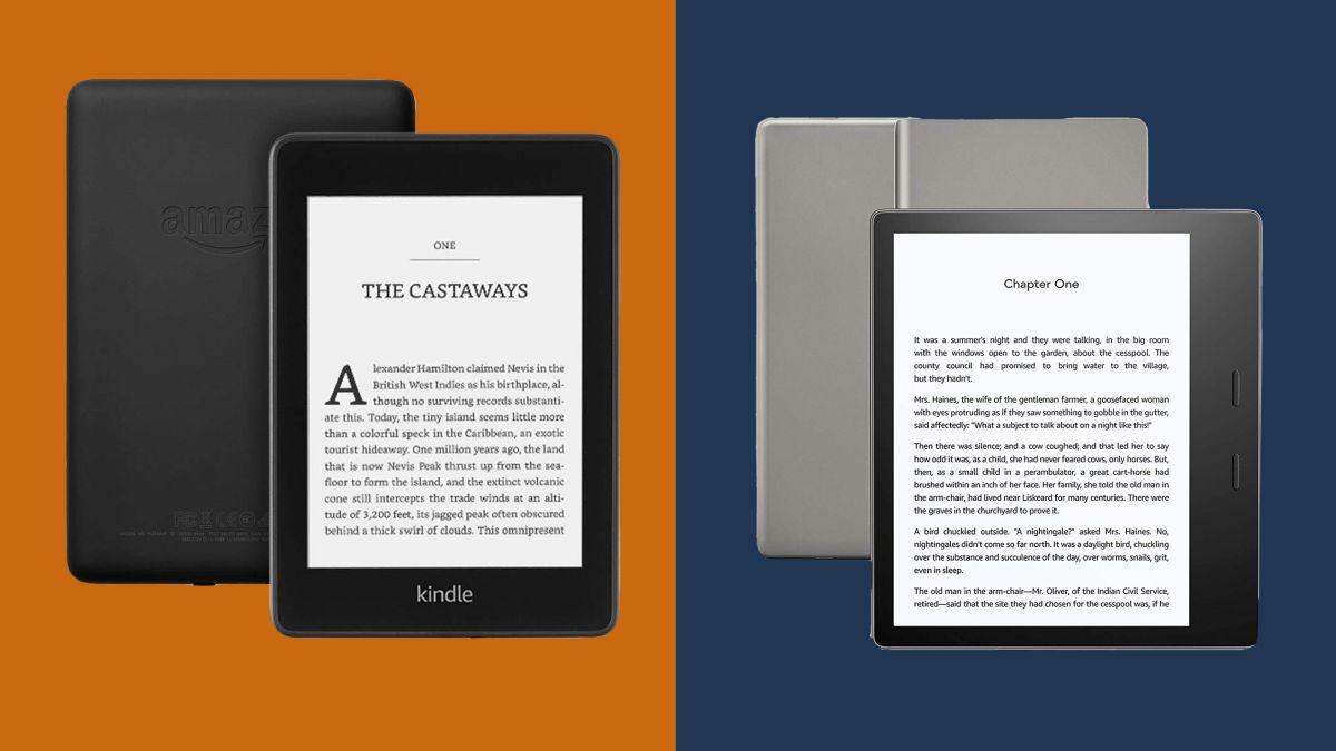 Amazon Kindle Paperwhite vs Kindle Oasis: which Amazon