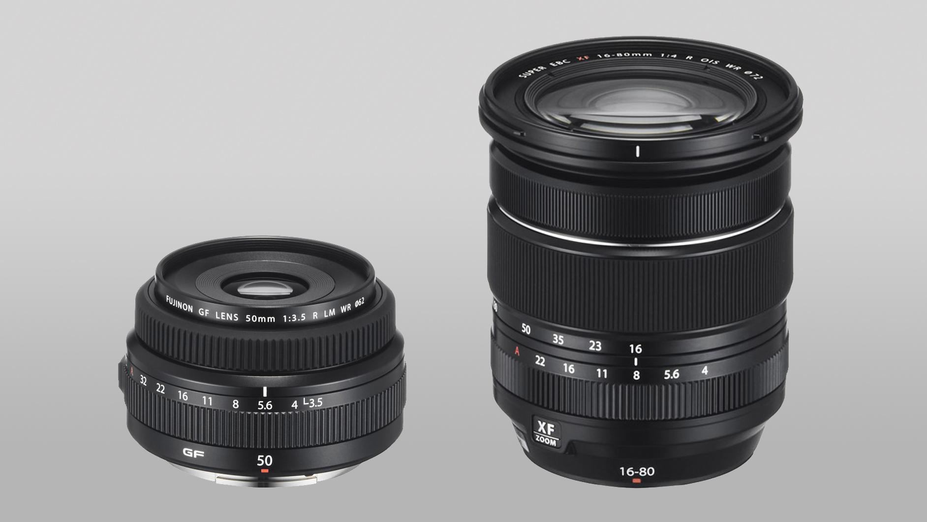 Two new Fuji lenses leak: Fujinon GF 50mm f/3.5 and Fujifilm XF 16-80mm f/4 | Digital Camera World