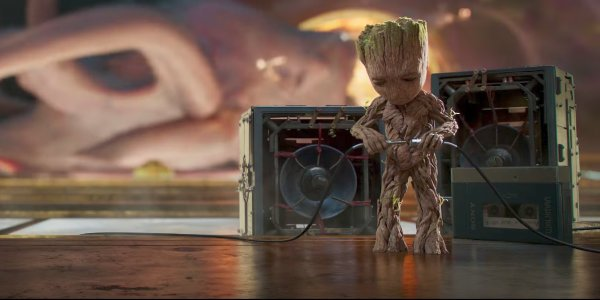 Baby Groot Guardians of the Galaxy Vol. 2 soundtrack
