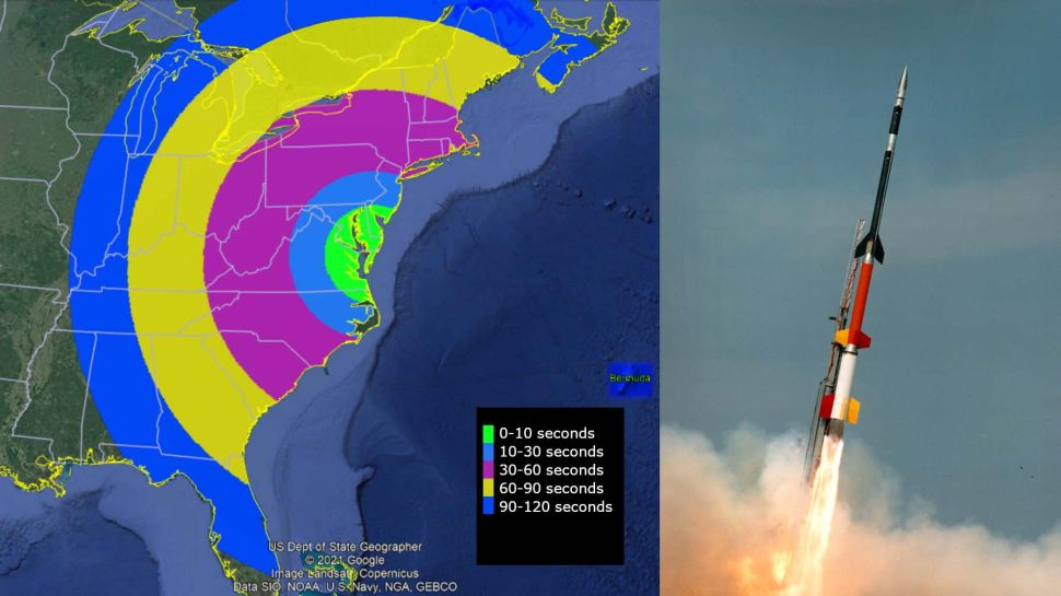 NASA rocket launch may spark visible light show over US East Coast and Bermuda tonight