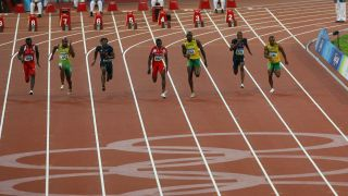 100 metres sprint at Olympics