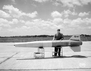 NACA, jet propulsion, space history