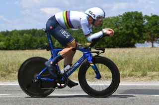 MILAN ITALY MAY 30 Filippo Ganna of Italy and Team INEOS Grenadiers during the 104th Giro dItalia 2021 Stage 21 a 303km Individual Time Trial stage from Senago to Milano ITT UCIworldtour girodiitalia Giro on May 30 2021 in Milan Italy Photo by Tim de WaeleGetty Images