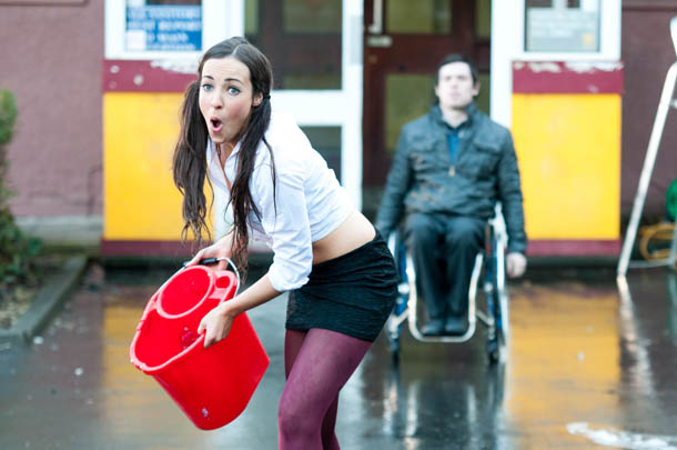 Sinead revels in her punishment!