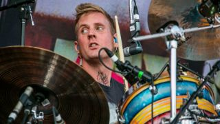 A picture of Mastodon drummer Brann Dailor