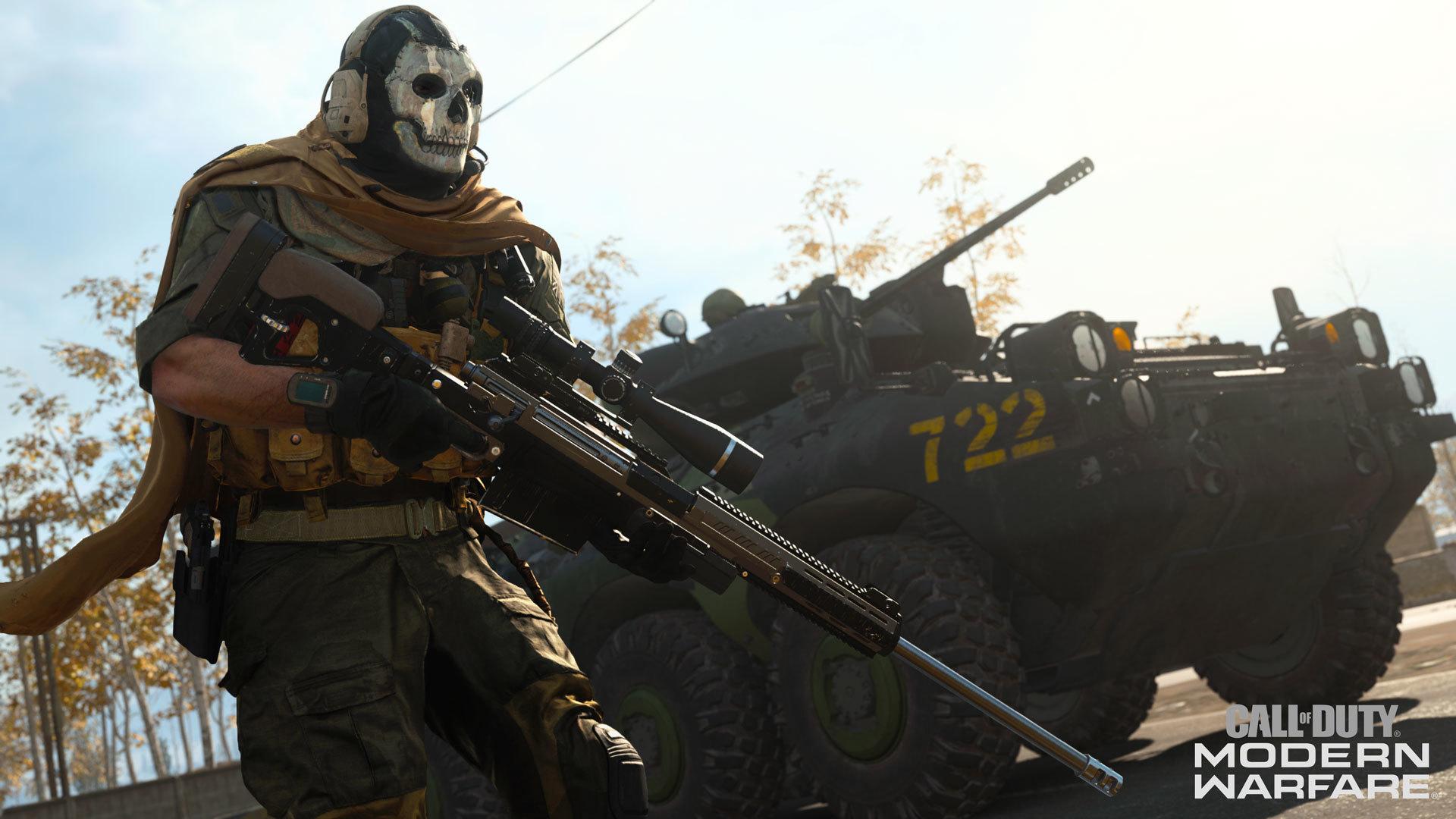 Call Of Duty Modern Warfare Brings Back Ghost Teases Battle