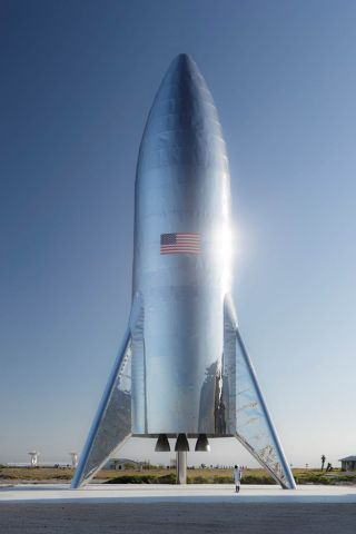 Image result for starship hopper