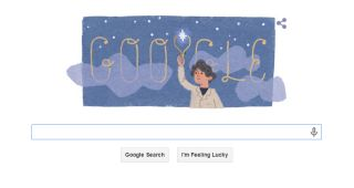Google Doodle for Annie Jump Cannon's 151st Birthday