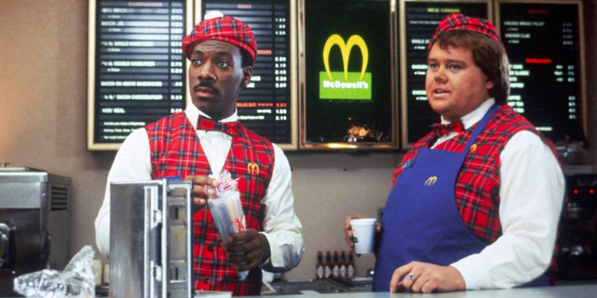 Coming To America's Eddie Murphy On Being Forced To Add A White Character To The Original Movie