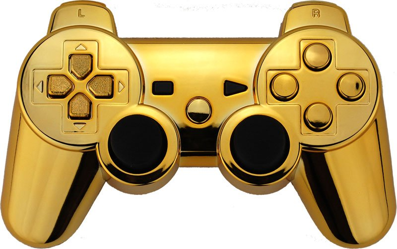Golden-Chrome Xbox One, PlayStation Controllers Become Best Sellers #30898