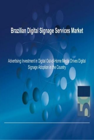 Research and Markets Brazilian Digital Signage Report