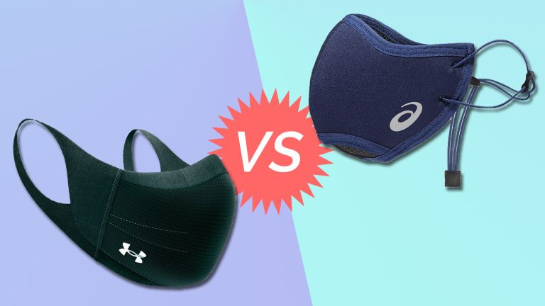 ASICS Runners Face Cover vs Under Armour UA SPORTSMASK