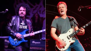 Steve Lukather and Eddie Van Halen live