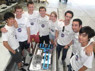UCSD Microgravity Team