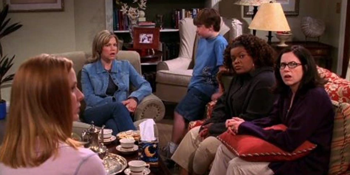 Yvette Nicole Brown and others on Two and a Half Men