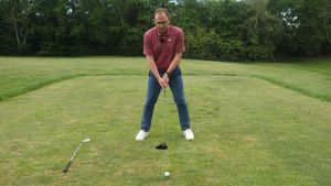 weight distribution in the golf swing