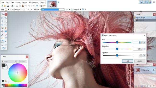 تحميل برنامج تعديل الصور paint net للكمبيوتر مجانا