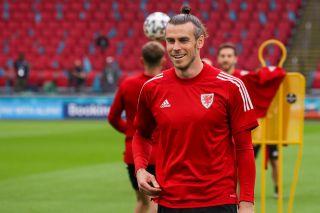 Wales training – Johan Cruijff ArenA – Friday 25th June