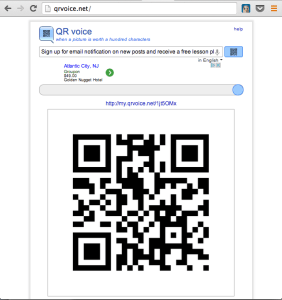Class Tech Tips: Talking QR Codes!