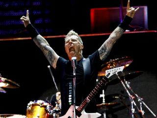 James Hetfield: amid all the love, he rolls out Hate Train