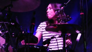 """As a singer, I feel like the drums are my security blanket,"" says The Colourist's Maya Tuttle."