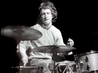 Mitch Mitchell on Fire