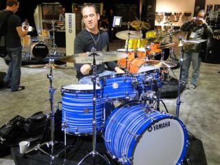 Kenny Chesney drummer Sean Paddock rocks Yamaha's Club Custom kit