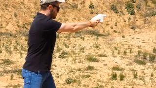 Printed Liberator gun fired