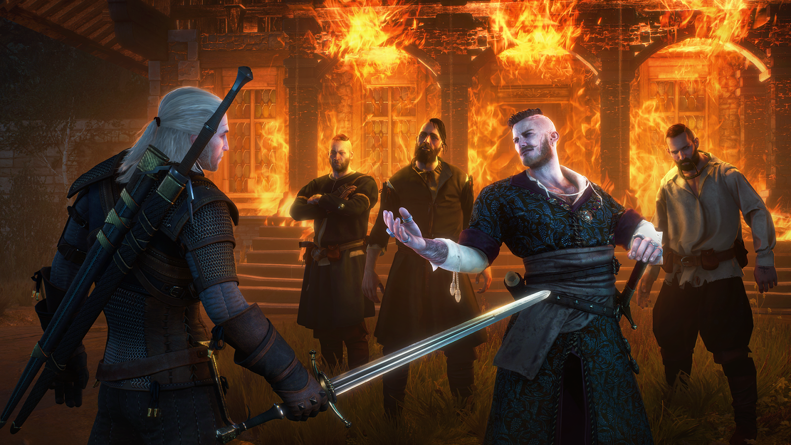 An encounter with Olgierd early on can play out in two strikingly different ways. Heads roll, but whose changes based on the decisions you make.