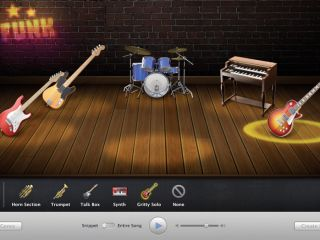 If you're a beginner, the Magic GarageBand wizard is an easy place to start.