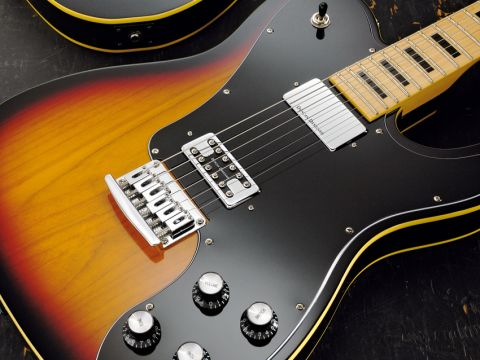 One of the finishes available is a classic three-tone sunburst.