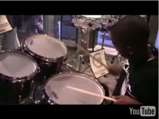 Could you play drums as well as Isiah Ulysses when you were ten?