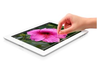 New iPad: flower power.
