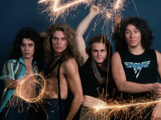 Van Halen in 1978 in a pose apparently not inspired by The Kinks