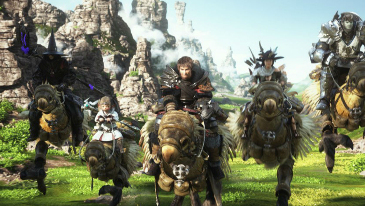 Final Fantasy 14 A Realm Reborn Review Gamesradar