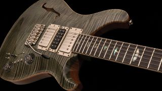 a press shot of the PRS custom Super Eagle II