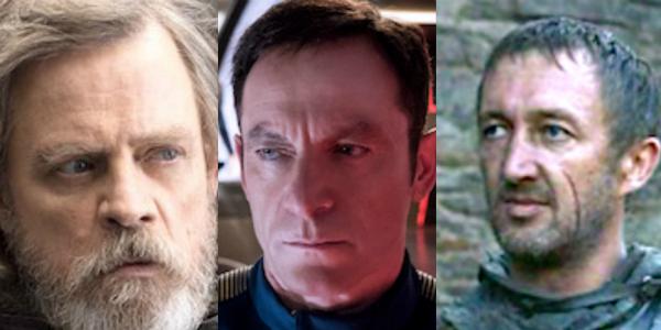 Mark Hamill Luke Skywalker Star Wars Jason Isaacs Star Trek Discovery Ralph Ineson Game of Thrones