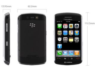 An iPhone AND a Blackberry? What upside down world do we live in?