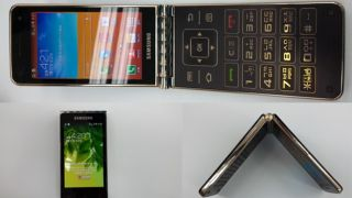 Oh snap! Dual touchscreen Samsung Galaxy Folder flip phone leaks again