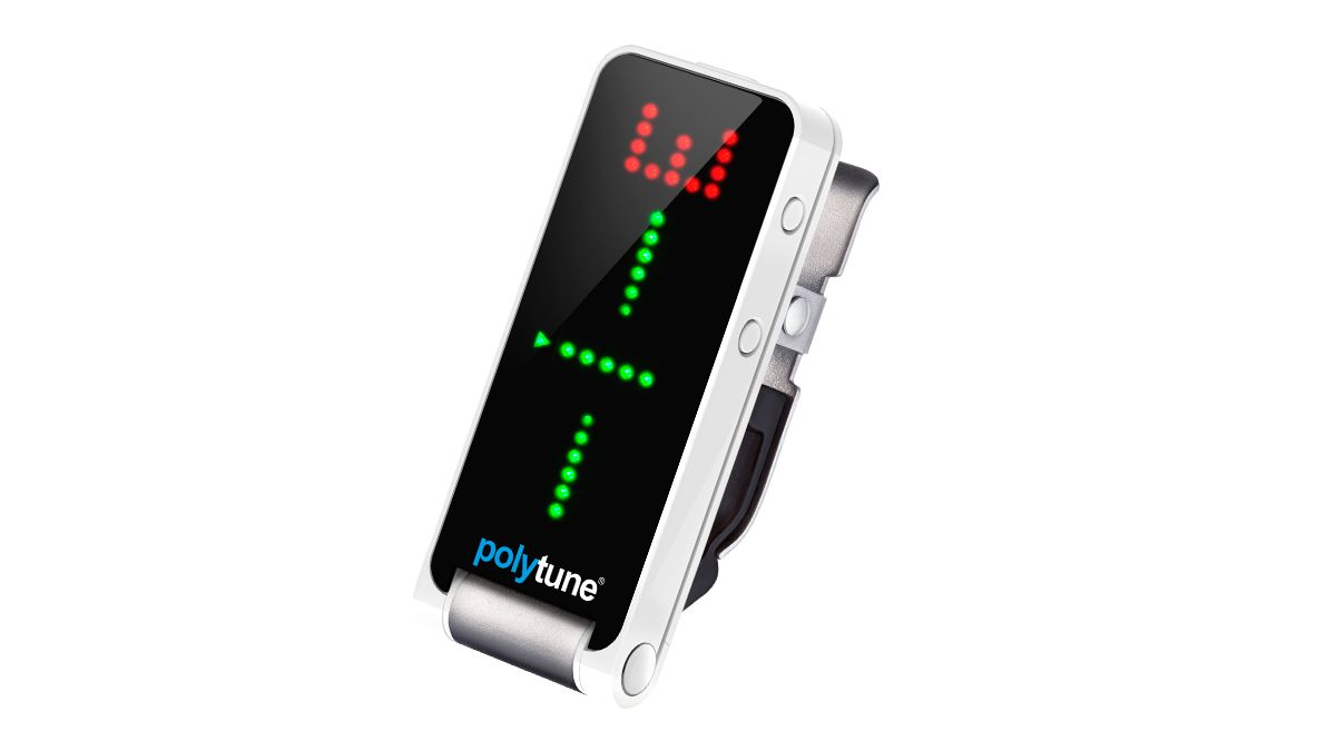 tc electronic reveals polytune clip polyphonic guitar tuner musicradar. Black Bedroom Furniture Sets. Home Design Ideas