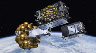 Two Galileo Satellites