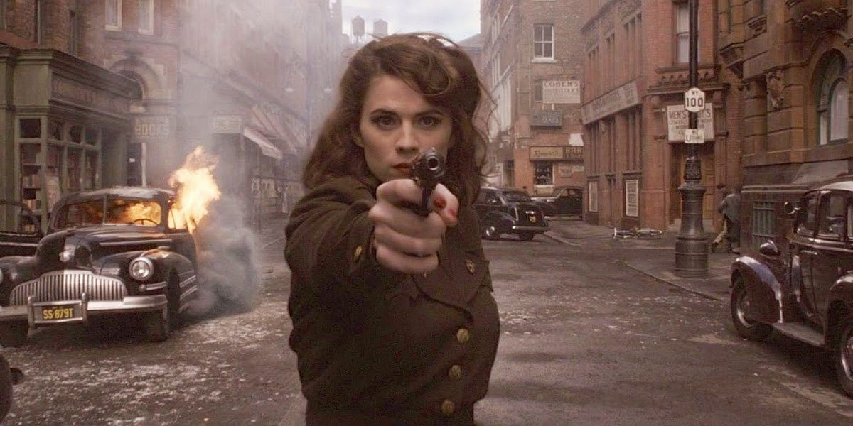 Haley Atwell in Captain America: The First Avenger