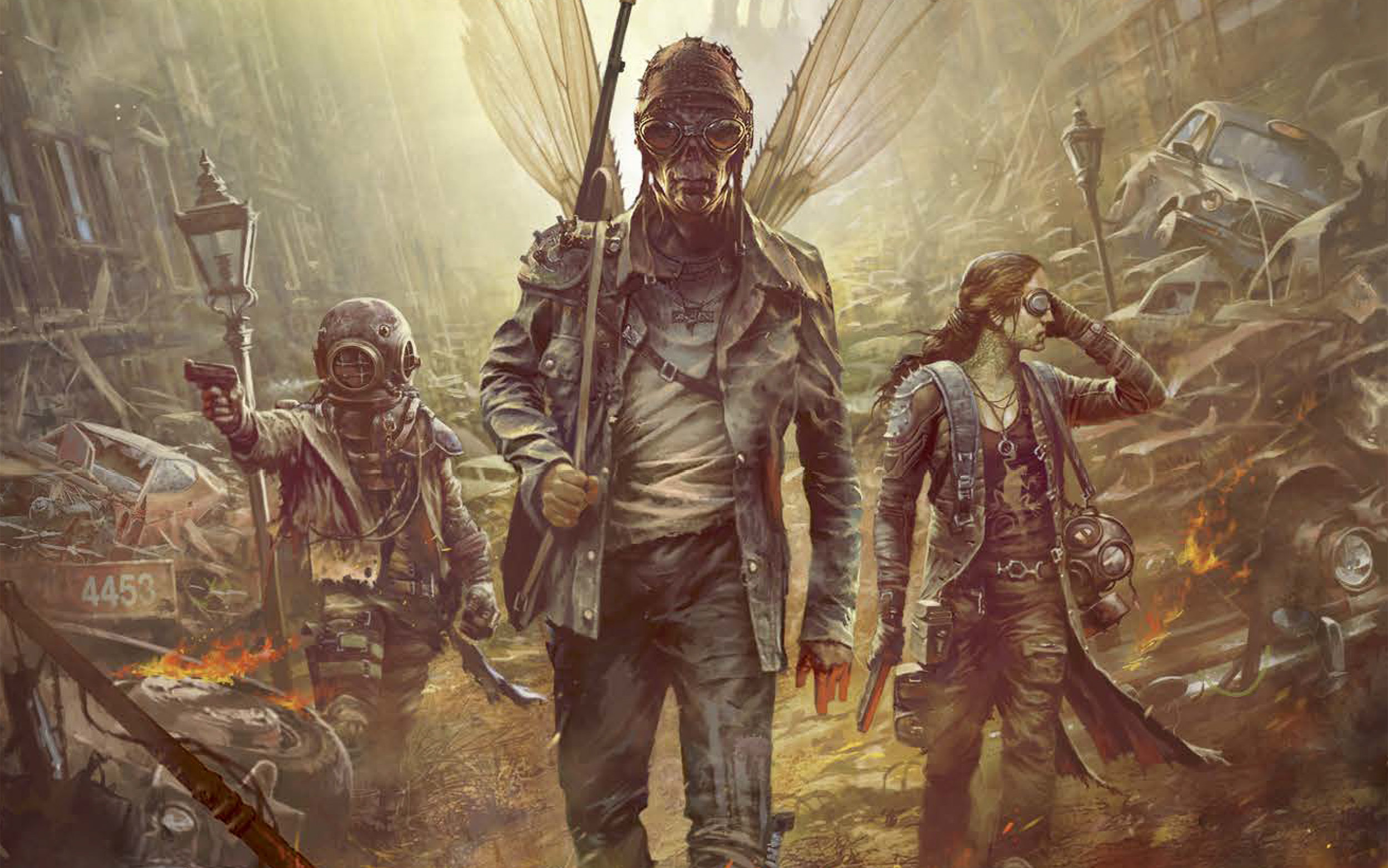 The tabletop lore behind Mutant Year Zero's gun-toting animals and psionic doomsday cultists