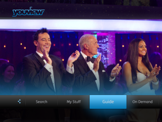YouView A kiss goodbye from the Rose