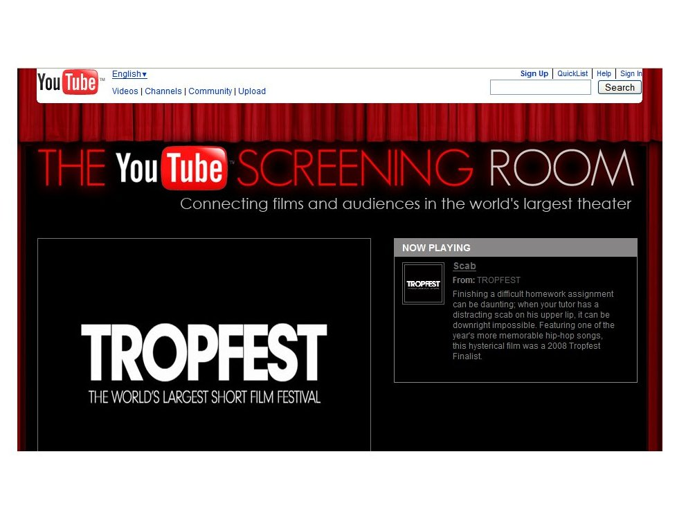 YouTube screens first ever feature-length movie | TechRadar
