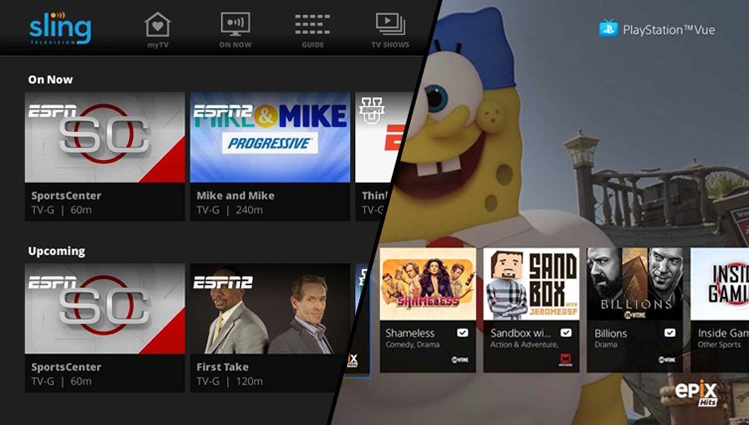 DirecTV Now vs  PlayStation Vue vs  Sling TV: Face-Off | Tom's Guide