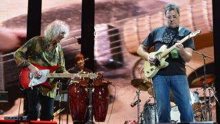 Albert Lee and Vince Gill