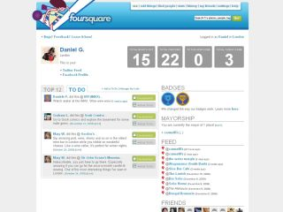 FourSquare - no longer the mayor of Facebook?