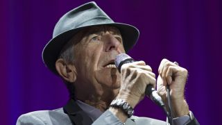 Leonard Cohen performing in New Zealand in 2013.