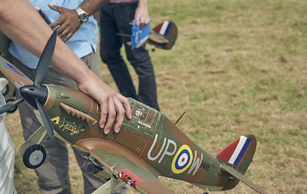 Battle of Britain: Model Squadron – C4, 8pm